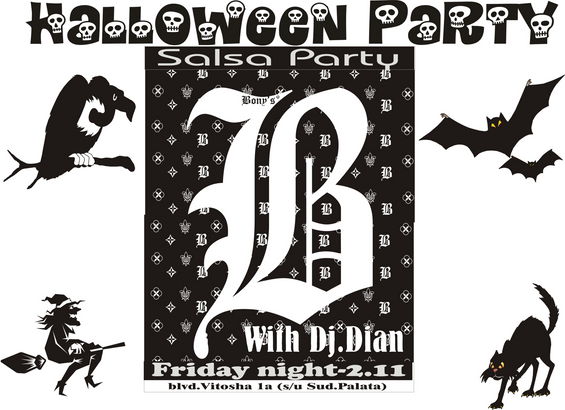 Helloween Salsa Party